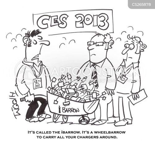 tech giant cartoon