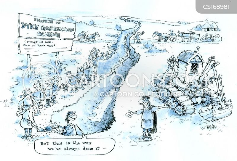 trenches cartoon