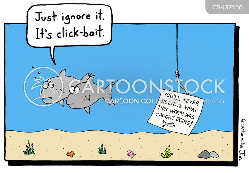 clickbait cartoon
