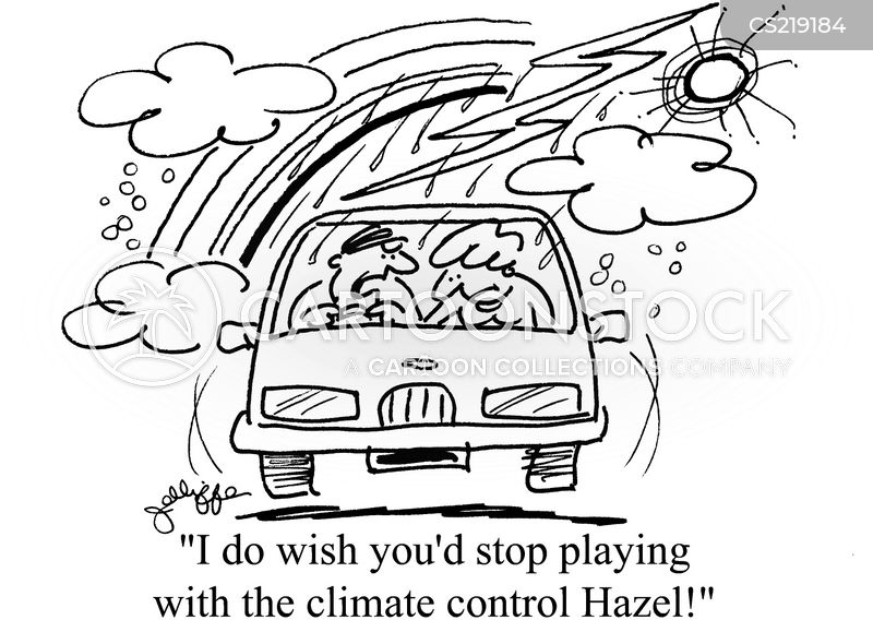 climate control cartoon