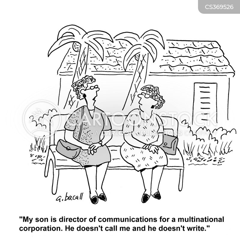 keeping in touch cartoon