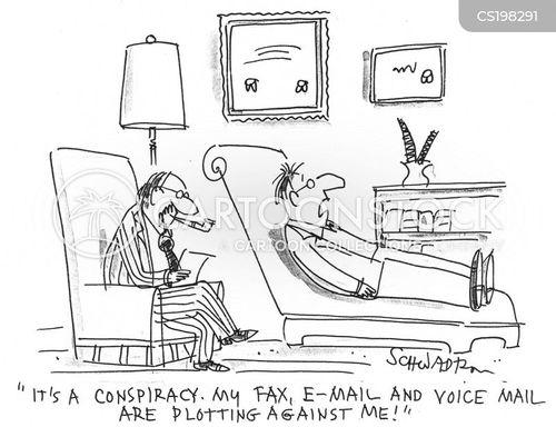 voice mail cartoon