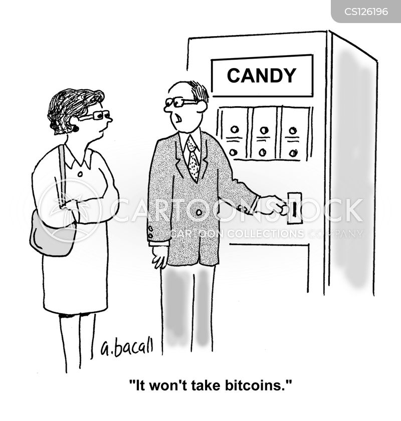 electronic cash systems cartoon