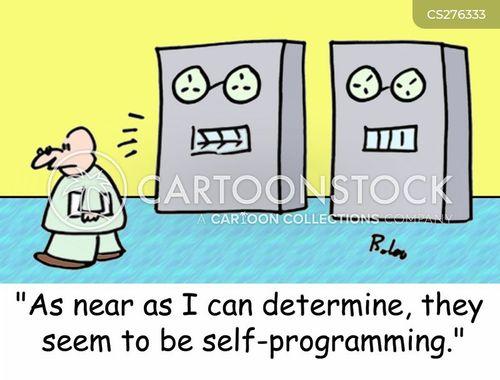 human behaviour cartoon