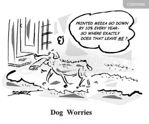 Family Cartoon of 7 Family Dog Cartoon 7 of 39