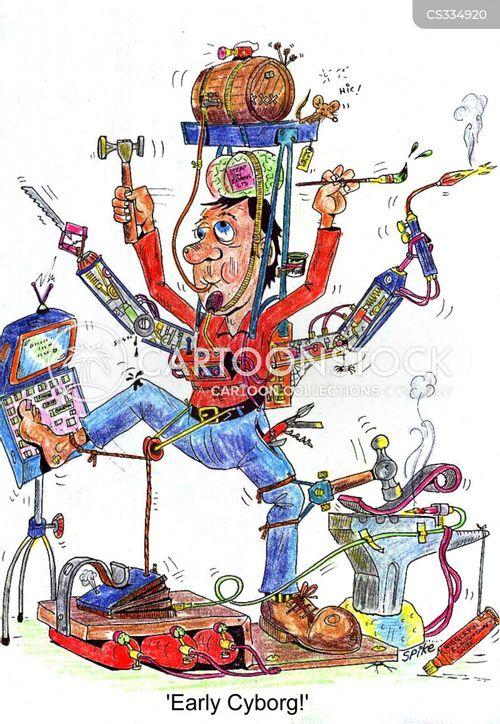 gadget man cartoon