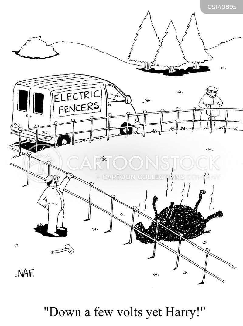 electric current cartoons and comics