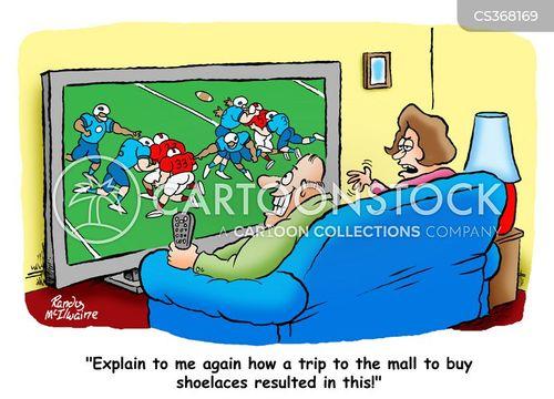 plasma screens cartoon