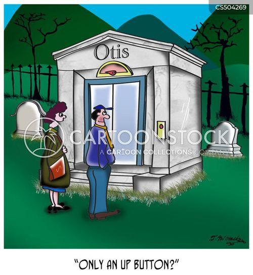 mausoleum cartoon