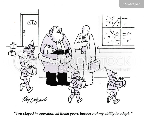 adapts cartoon