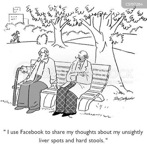 unwanted information cartoon