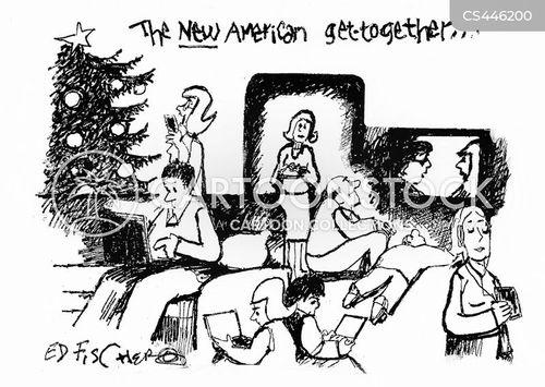 interaction cartoon