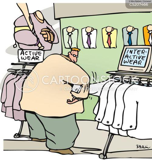 active cartoon