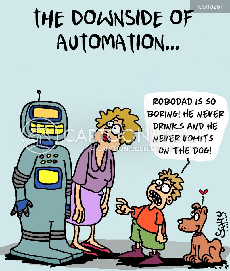 automaton cartoon