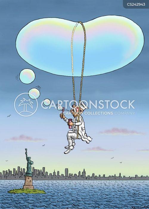 ferdinand von zeppelin cartoon