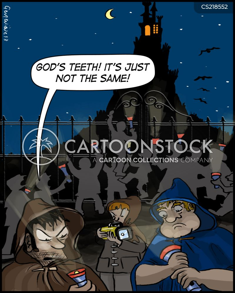 flashlights cartoon