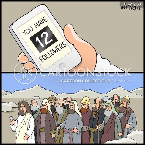 early christianity cartoon