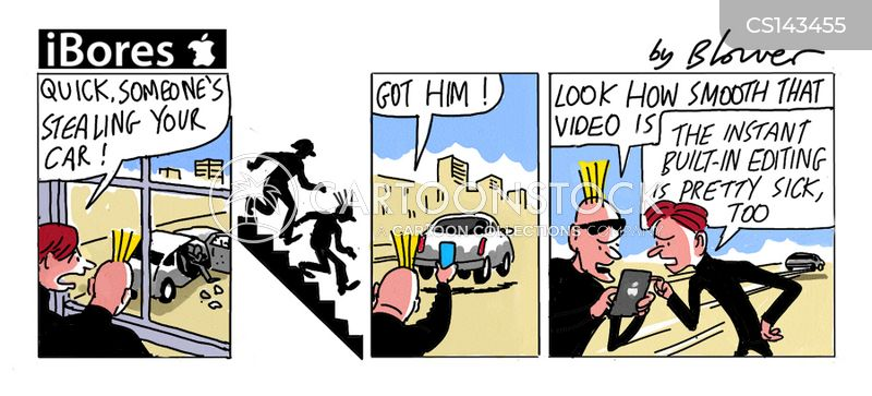 video cameras cartoon