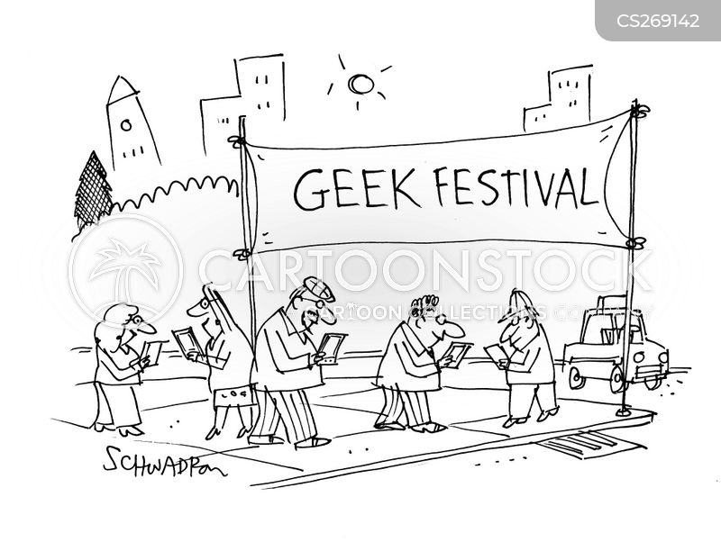 technological development cartoon