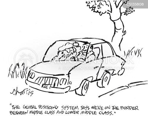 upper middle class cartoon