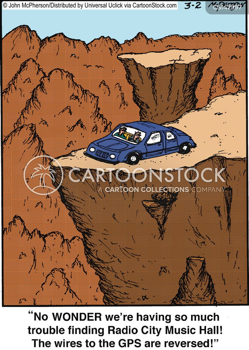canyon cartoon