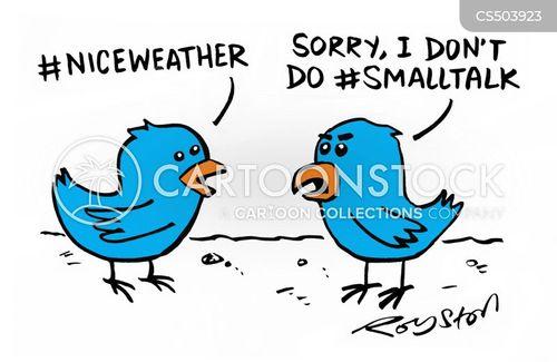 conversational skills cartoon