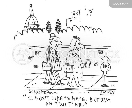 hateful cartoon
