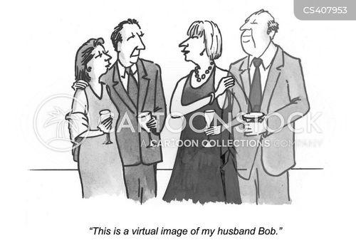 holograms cartoon
