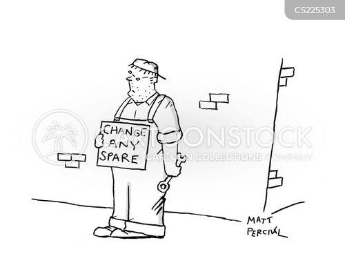 spanner cartoon