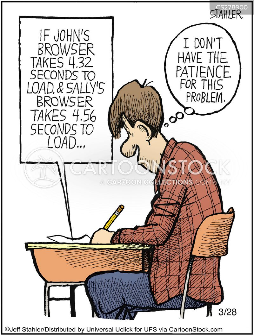 browser cartoon