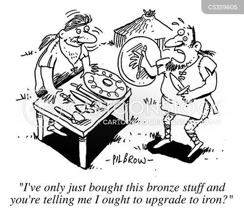 bronze cartoon