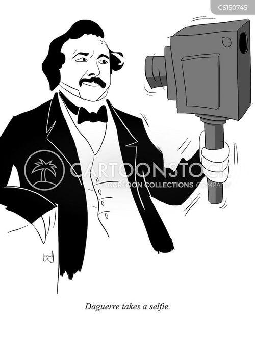 daguerreotype cartoon