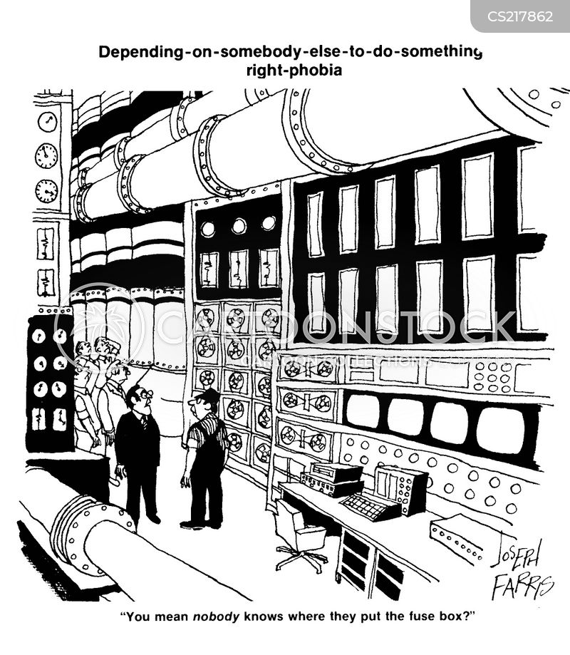fuse box cartoon