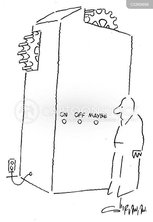 on switch cartoon