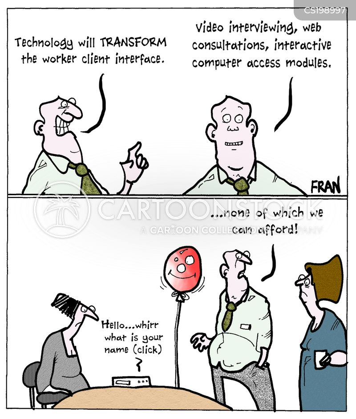 interface cartoon