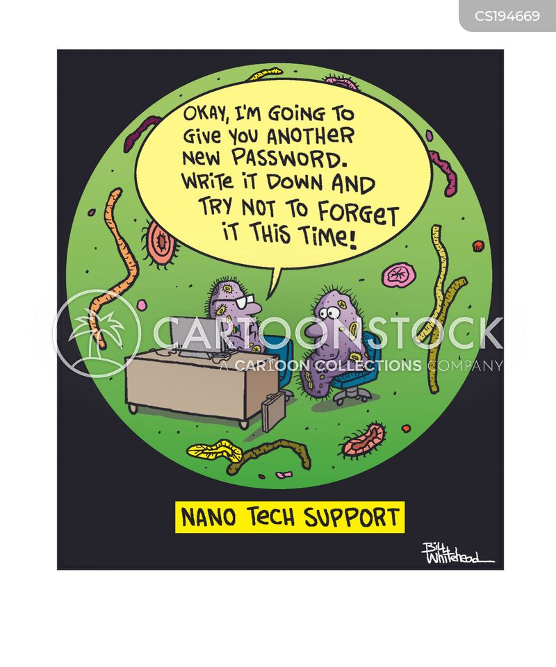 bacillus cartoon