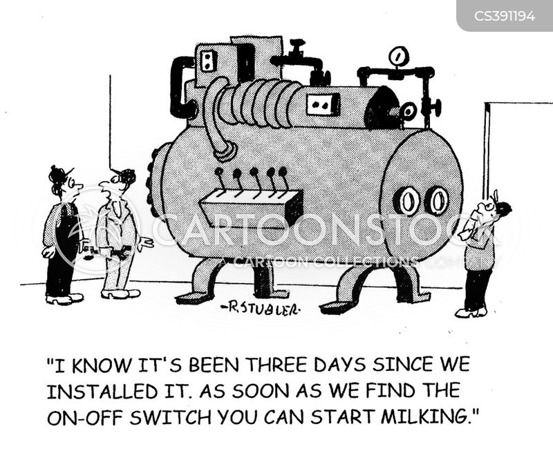 off switch cartoon