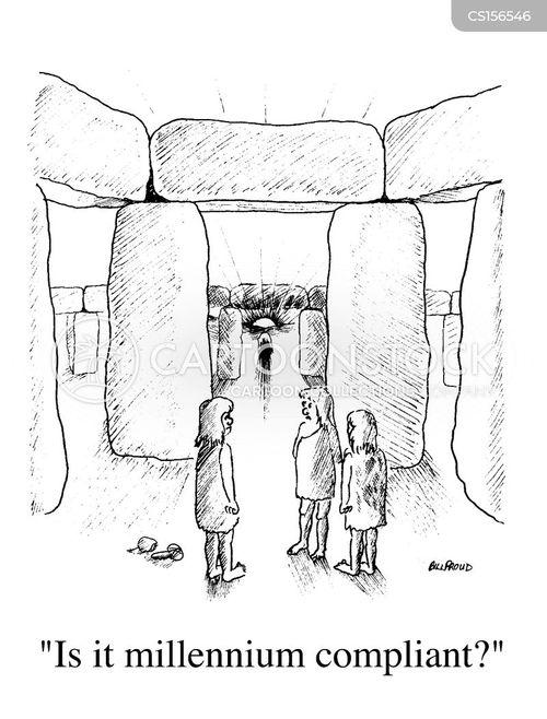 millenium bug cartoon