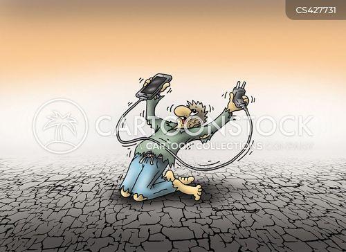 energy supplies cartoon