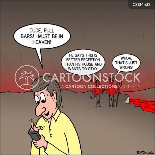 bad signals cartoon