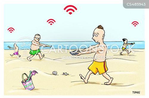 technological devices cartoon