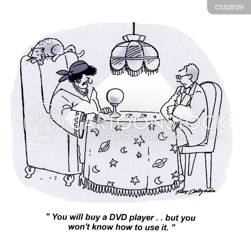 dvd players cartoon