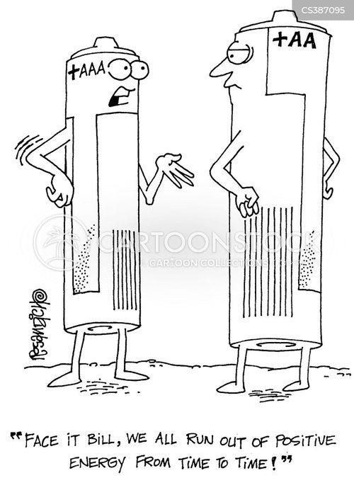 visual punning cartoon
