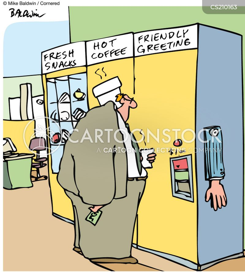friendly greetings cartoon