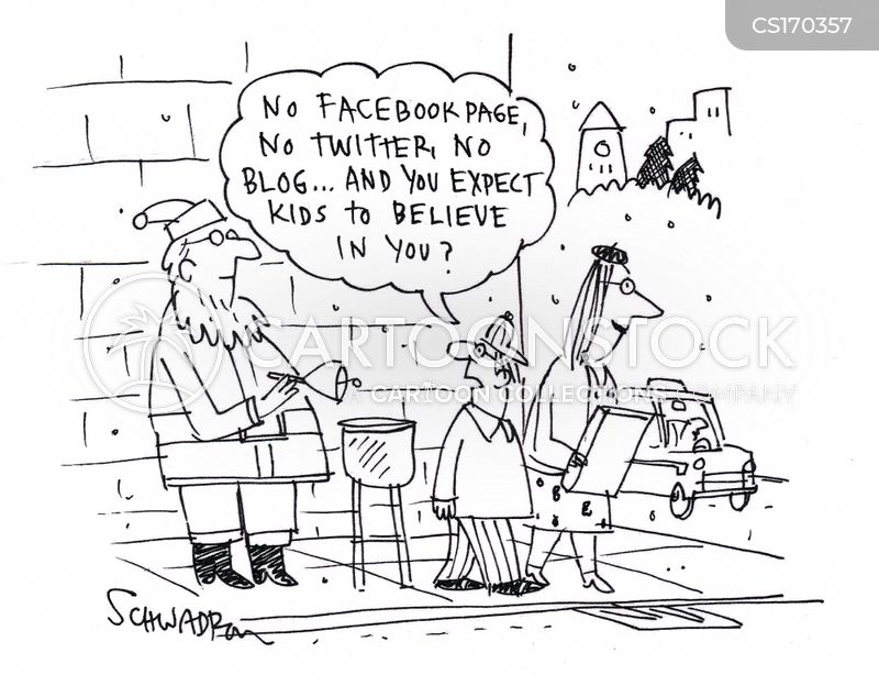 tweeted cartoon