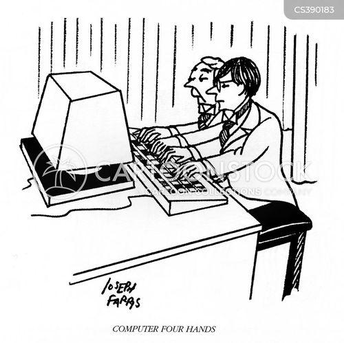 music term cartoon