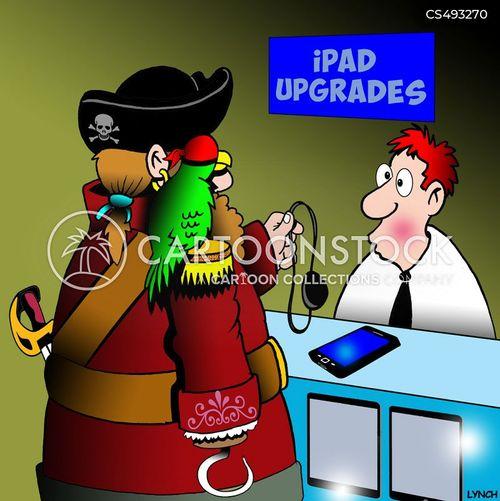 tech repairs cartoon