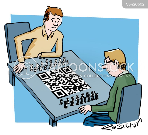 chess master cartoon