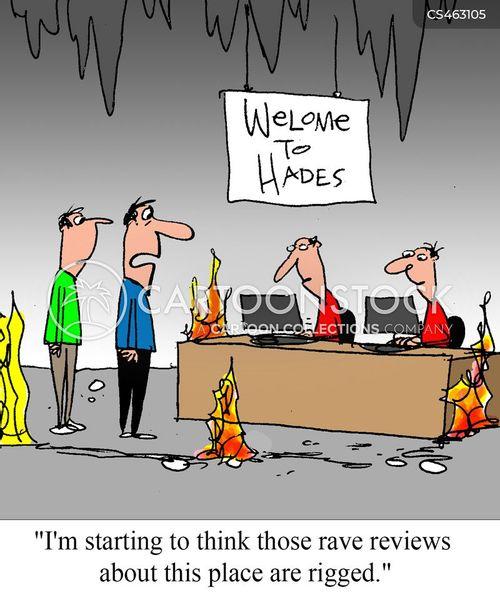 rave reviews cartoon