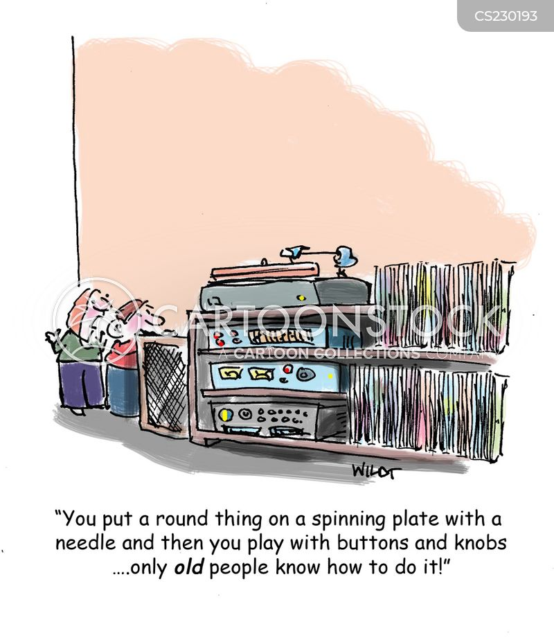 Record Player Cartoons And Comics Funny Pictures From